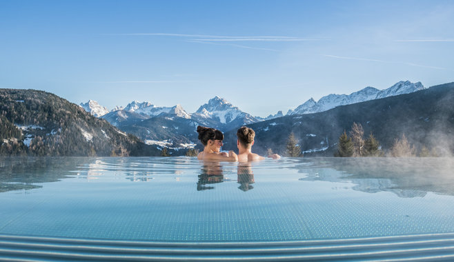 Hotel Alpen Tesitin - Panorama Wellness Resort - Winterstimmung