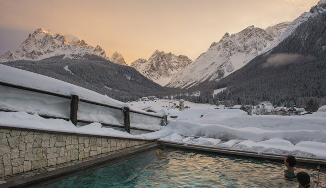 Berghotel - Dolomiten - Outdoor Pool