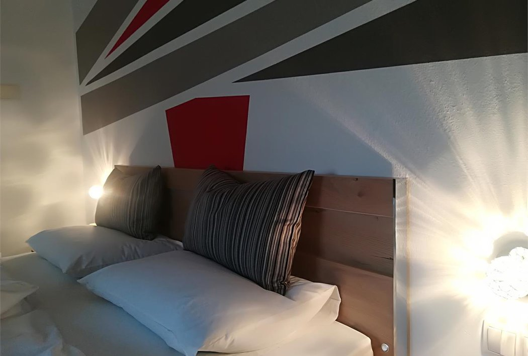 Schlafzimmer Ferienwohnung Nord