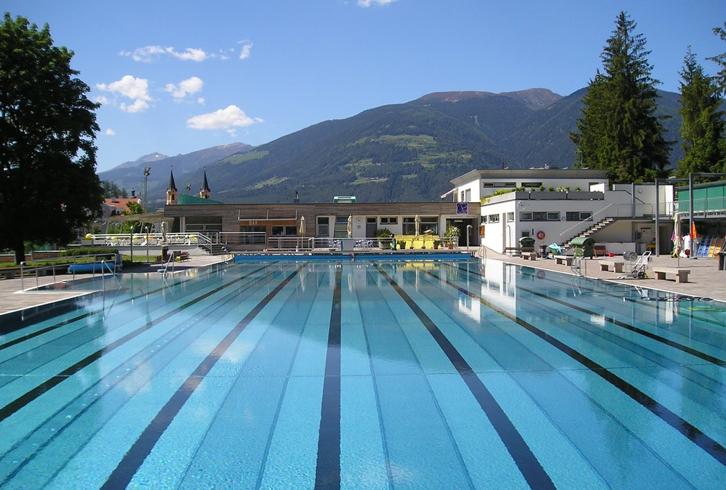 Outdoor Pool of Bruneck
