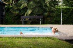 Freibad mit Unterwassermassage