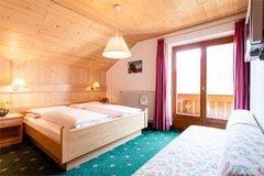 Zimmer für 2 - 3 Personen