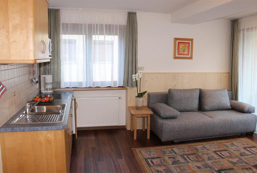 Appartment Wohnzimmer und Küche