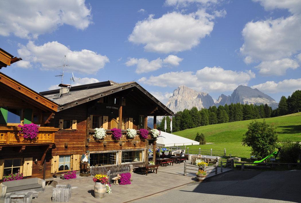 Hotel Ritsch Seiser Alm summer