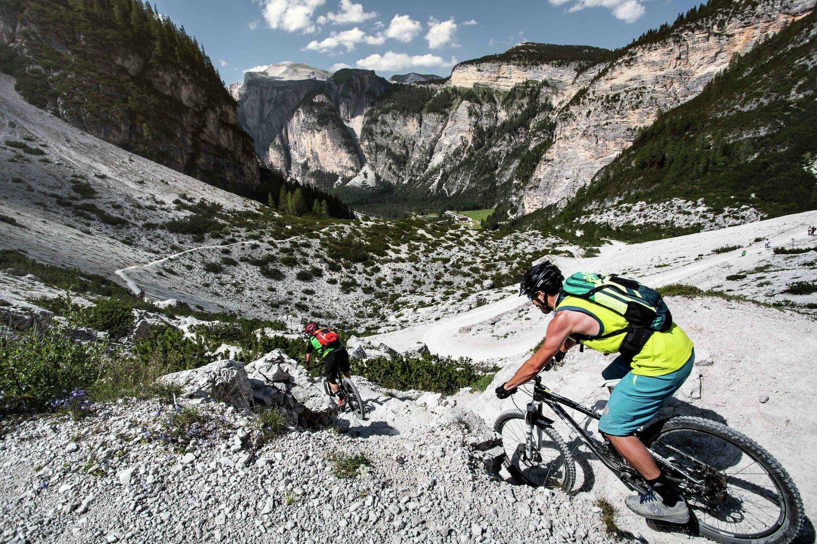 3 giorni Enduro MTB nelle Dolomiti